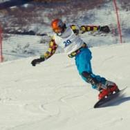 Кубок России по сноуборду в Абзаково