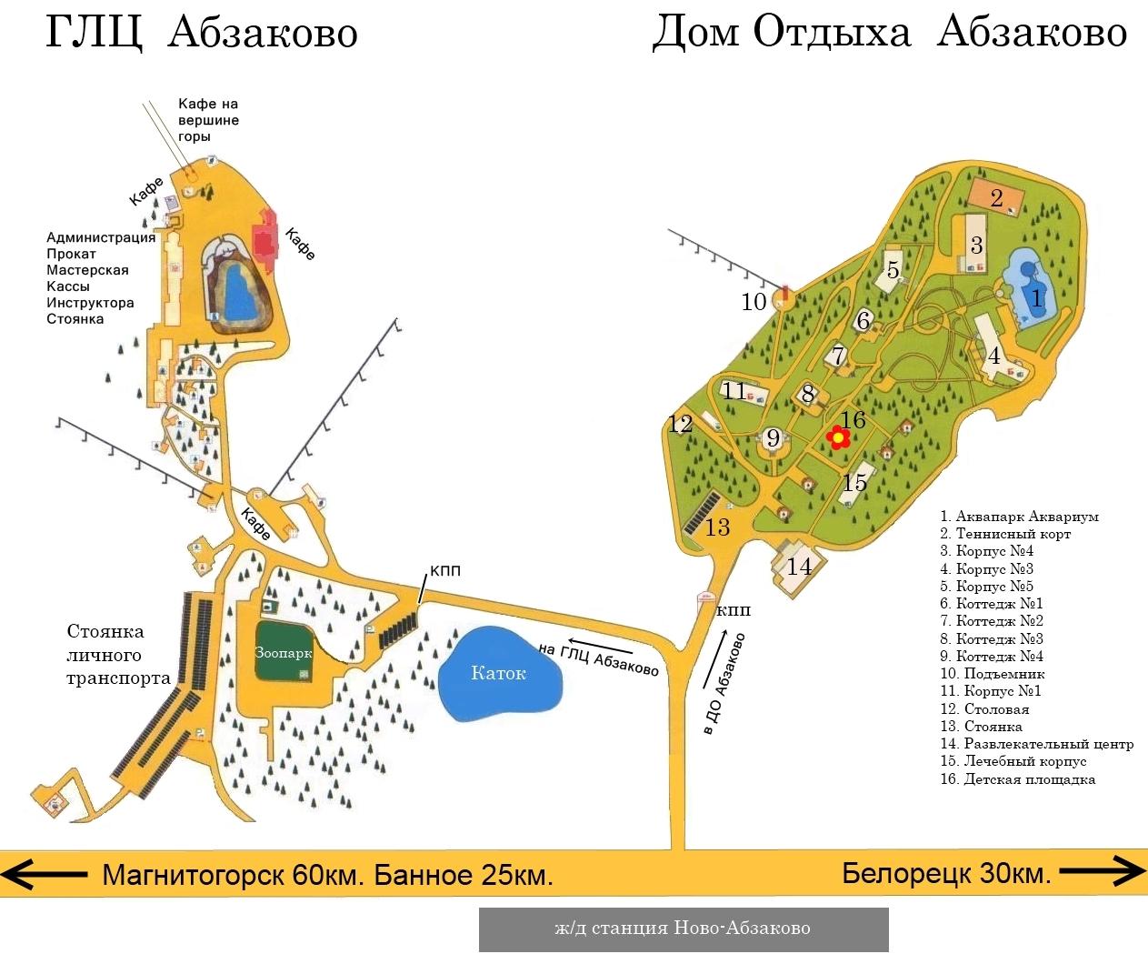 Схема Абзаково