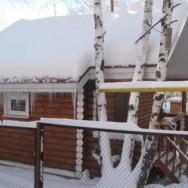 Финский коттедж в Абзаково