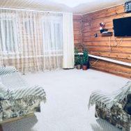 Дом с баней в Абзаково