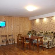 двухэтажный дом в Абзаково
