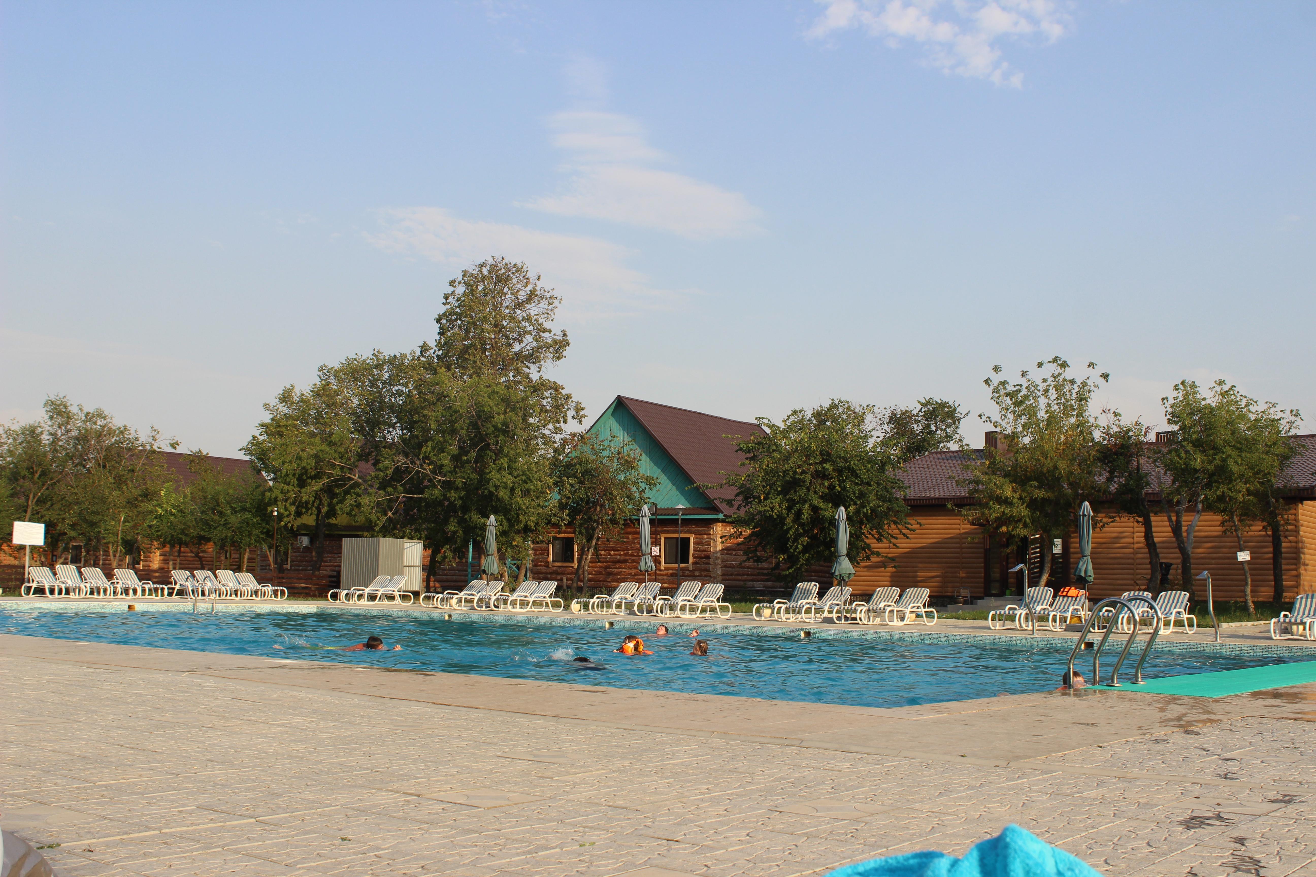 бассейн в Динопарке