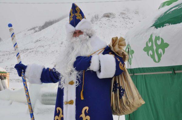 Гостевая юрта Деда Мороза